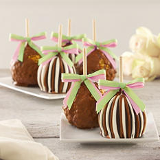 Mrs. Prindables Spring Caramel Petite Apple 4-Piece Gift
