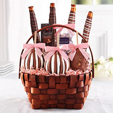 Mrs. Prindables Classic Spring Caramel Apple Basket