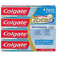 Colgate Total Whitening Toothpaste, Paste - 7.8 oz. - 4 pk.