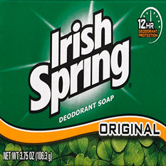 Irish Spring Soap Bar, Original (3.75 oz.)