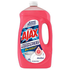 Ajax Advanced Citrus Blast Dishwashing Liquid (128 oz.)