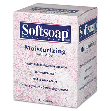 Softsoap - Hand Soap with Aloe - Dispenser Refill - 800mL