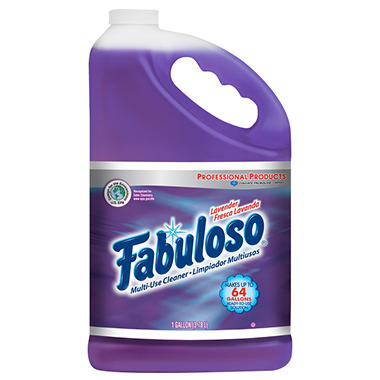 Fabuloso All-Purpose Cleaner - Lavender Scent - 1 gal. - 4 pk.