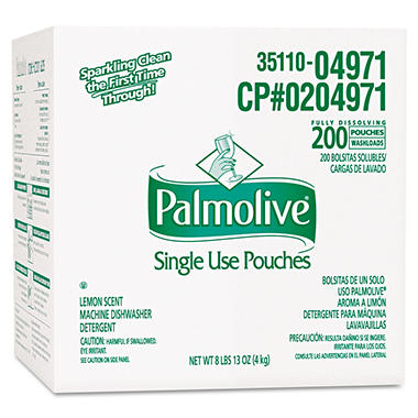 Colgate-Palmolive Triple Action Dishwasher Tabs