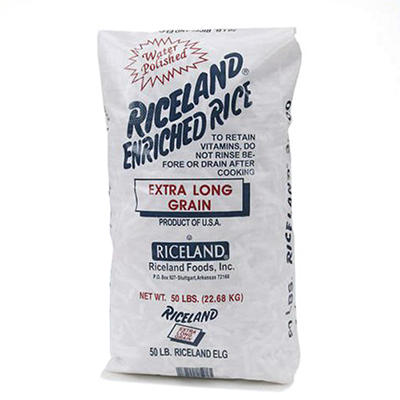 Riceland Extra Long Grain Rice - 50 lbs.