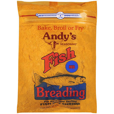 Andy's Seasoning Fish Breading Red - 5 lb.