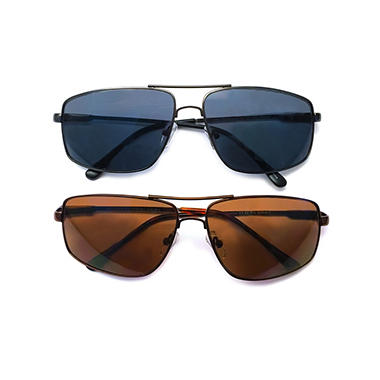 I.Image Men's Metal 2-Pack Sunglass Readers