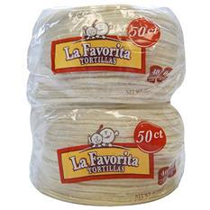 La Favorita Corn Tortillas - 2/50 ct.
