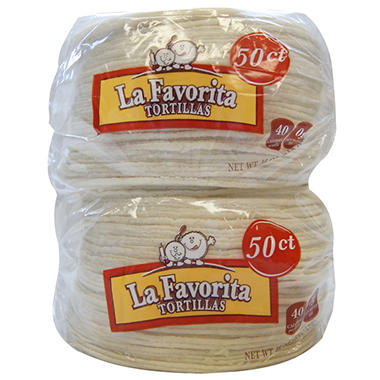 La Favorita Corn Tortillas - 2/50 ct.