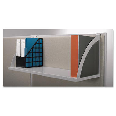 basyx by HON - Versé Panel System Hanging Shelf - Gray