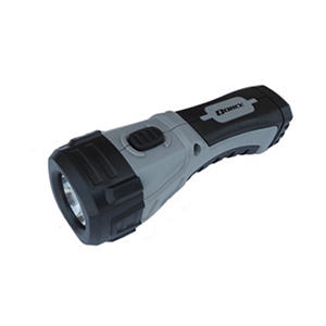 Dorcy Industrial LED Flashlight with Kickstand - Black and Gray