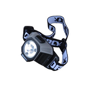 Dorcy Industrial LED Headlight - Black and Gray