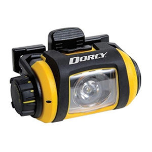 Dorcy Pro Series 200 Lumen LED Headlight - Yellow and Black
