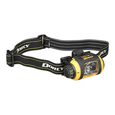 Dorcy Pro Series 200 Lumen LED Headlight with Tripod - Yellow and Black