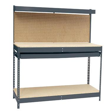 Edsal Heavy Duty Workbench with Single-Drawer - 48