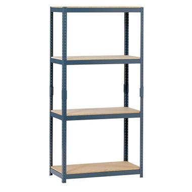 Edsal 4-Shelf Steel Shelving - 60
