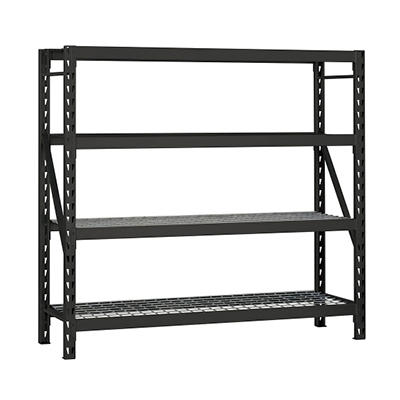 Edsal Heavy-Duty 4-Shelf Steel Shelving