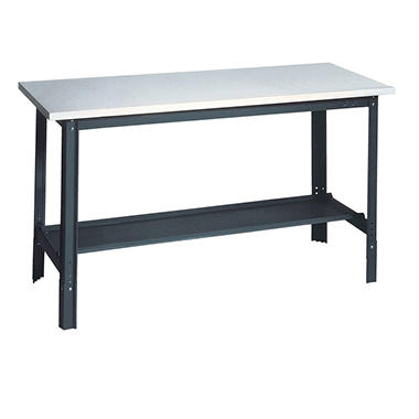 Edsal Economy Workbench with Laminate Top and Storage - 2 ft. x 4 ft.