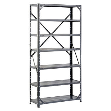 Edsal Hom-E-Quip Steel Canning Shelving - Gray - 60