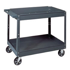 "Edsal Commercial Steel Service Cart - 16""W x 30""L x 3.5""H"