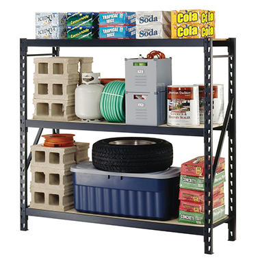 Edsal 3 Level Welded Storage Rack