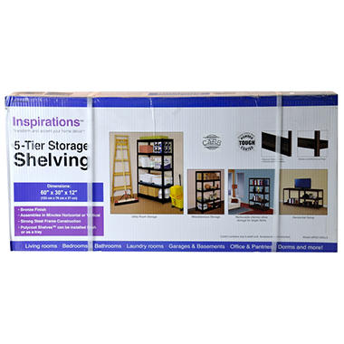 Edsal 5-Tier Storage Shelving