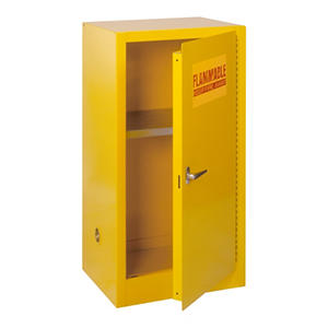 "Edsal Compact Flammable Safety Steel Cabinet - 23""W x18-8""D x 35""H"