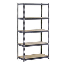 "Edsal Heavy Duty 16-gauge Boltless Steel Shelving - 36""W x 18""D x 72""H"