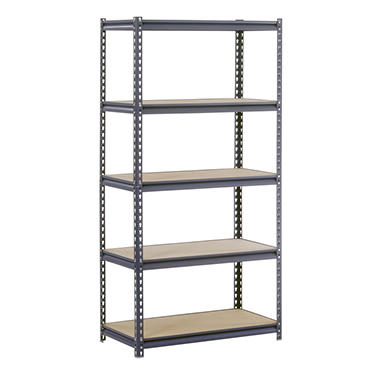 "Edsal Heavy Duty 16-gauge Boltless Steel Shelving - 36""W x 24""D x 72""H"