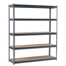 Edsal Heavy-Duty Gray 16-gauge Boltless Steel Shelving