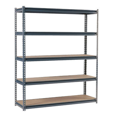 "Edsal Heavy Duty 16-gauge Boltless Steel Shelving - 60""W x 24""D x 72""H"