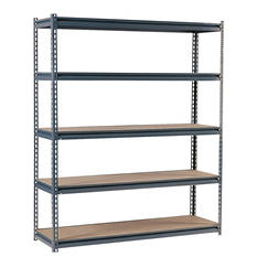 "Edsal Heavy Duty 16-gauge Boltless Steel Shelving - 72""W x 24""D x 72""H"
