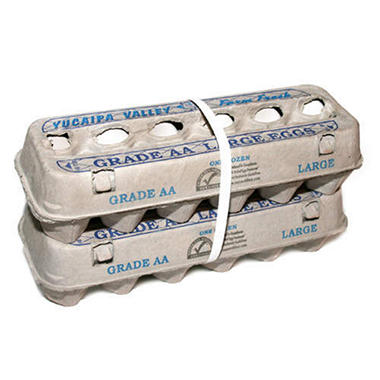 Yucaipa Valley Gradee AA Large Eggs - 12 ct. - 2 ct.