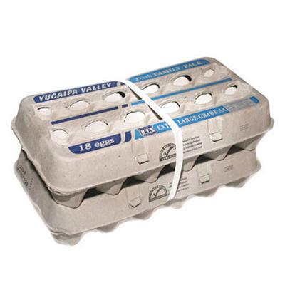 Mcanally Ex-Large Grade AA Eggs - 18 ct. cartons - 2 ct.