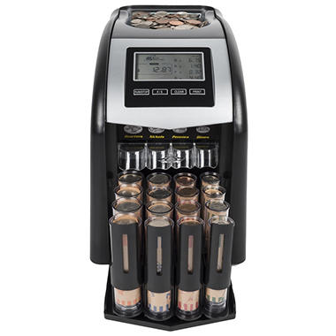Royal Sovereign Digital 4-Row Coin Sorter