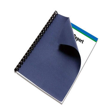 Binding Covers - Navy - 600 pk.