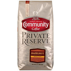 Community Coffee Private Reserve Whole Bean Hazelnut (32 oz.)
