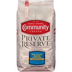 Community Coffee Private Reserve Whole Bean Breakfast Blend (32 oz.)