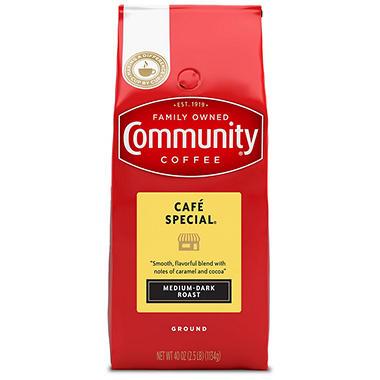 Community Coffee, Café Special, Ground (40 oz. bag)