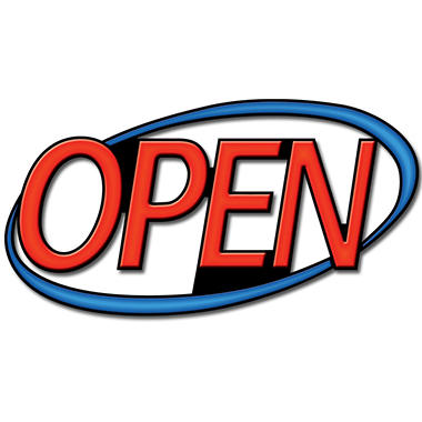 "30"" Superbrite LED Open Sign"