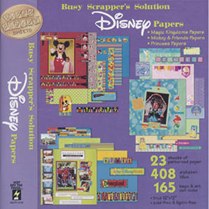 Paper Pizazz Papers & Accents-Disney