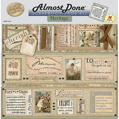 Almost Done Page Kit - 12x12