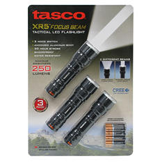 Tasco XR5 Focus Beam Flashlight