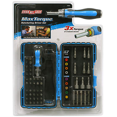 Channellock MaxTorque Ratcheting Driver Set