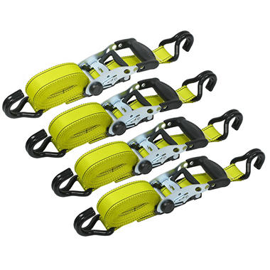 Goodyear Ratchet Tie Down Straps - 4 pk.