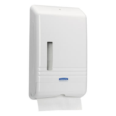Kleenex Slimfold Towel Dispenser - White