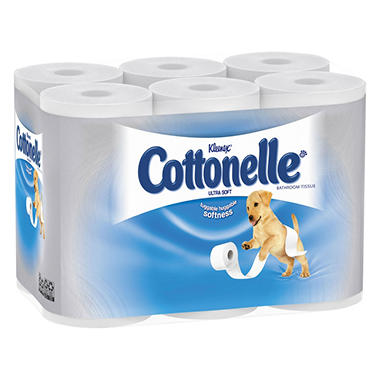 Kleenex Cottonelle Ultra Soft Bath Tissue - 48 Rolls