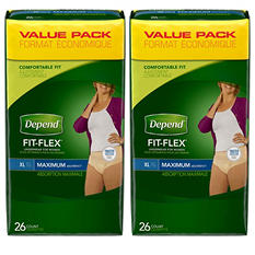 Depend Underwear for Women - Extra Large - 52 ct.