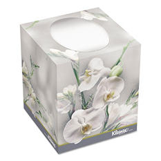 Kleenex - Boutique Two-Ply White Facial Tissue, 95 Tissues/Box -  36 Boxes/Carton