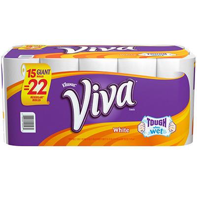 Viva Paper Towels, 15 Rolls (66 Sheets Each)